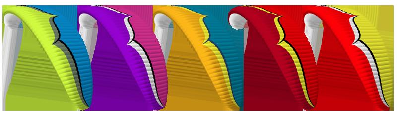 Ozone Rush 5 colours
