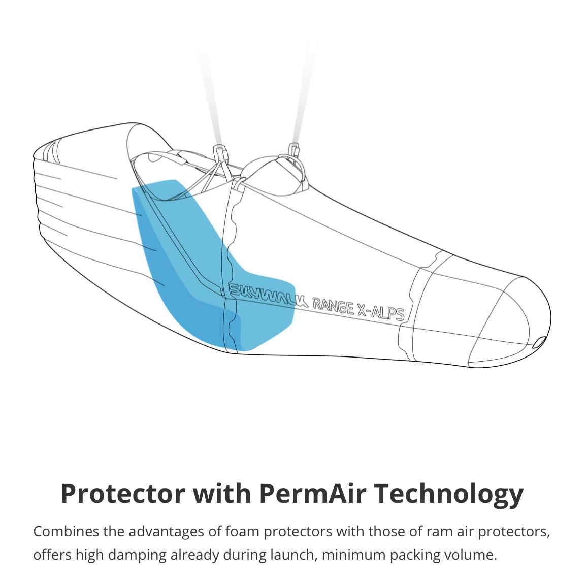 Skywalk Range X-Alps 2 - Protector with Permair Technology