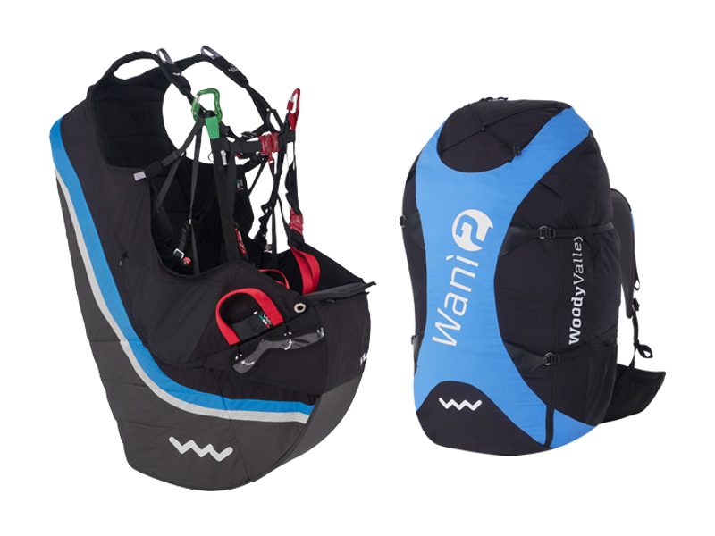 Woody Valley Wani 2 colour blue-black